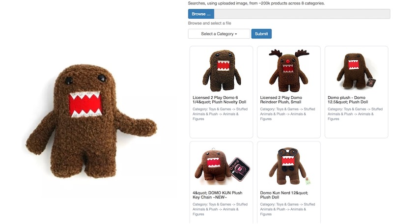 Image Search on Domo