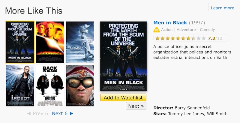 More like Independence Day on IMDB